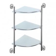 Полка стеклянная 3-х этажная P2907-3