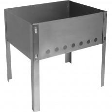 Мангал 300х240х300 мм, сборный, без шампуров в коробке Hot Pot