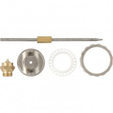 Ремкомплект для краскораспылителя 4 предмета: сопло 1,2 мм+игла+форсунка+зажим сопла/Matrix
