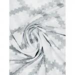 Вуаль IP100-04 белая с серым принтом 300*260
