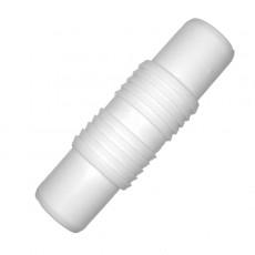 Штуцер ВИР-ПЛАСТ для соединения сливных шлангов СМА (19*19) 443