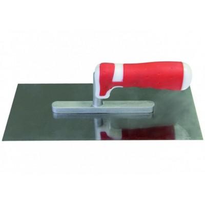 Кельма из нержавеющей стали 130*270мм (двухкомпонентная ручка) 1401020
