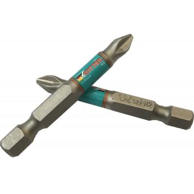 Бита Ritter WP PZ 2x50 мм магнитная (сталь S2) (2 шт. в блистерной упаковке)
