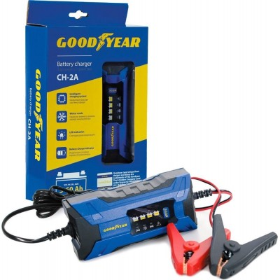 Электронное зарядное устройство для аккумуляторов Goodyear CH-2A