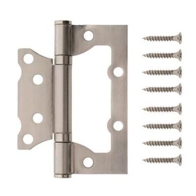 Петля накладная Code Deco 100*75*2,5-B2-NIS матовый никель
