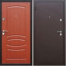 Дверь металлическая Стройгост 7 Итальянский орех 860х2050 левая