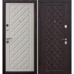 Дверь металлическая Ромбы Люкс_3К 960*2050 левая
