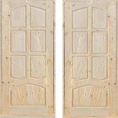 Дверной блок филенчатый ДФГ-700 арочный