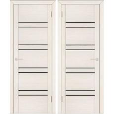 Дверь экошпон Анкона 8 ПО-600 кремовая лиственница