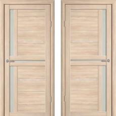 Дверное полотно экошпон Катрин 3 Соренто Капучино ПО-700