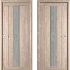 Дверное полотно экошпон Катрин 24 Версаль Капучино ПО-900