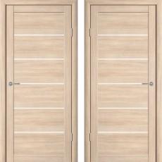 Дверное полотно экошпон Катрин 21 Челси Капучино ПГ-800