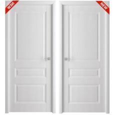 Дверь 3D покрытие Каскад белый ясень, утяжеленная ДГ-600