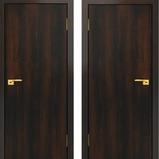 Дверное полотно С-01 Венге ПГ-700