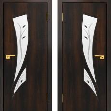 Дверное полотно С-02 Венге ПОФ-700