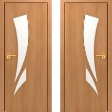 Дверное полотно С-02 миланский орех ПО-700