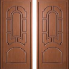 Дверное полотно шпонированное Татьяна Орех ПГ-900