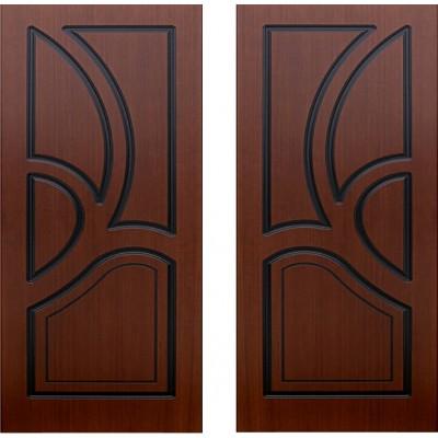Дверь шпонированная Велес шоколад ПГ-900
