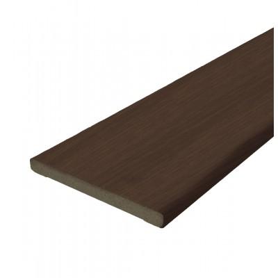 Добор ПВХ Темный орех 150 мм (Бастион)