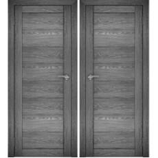 Дверное полотно АМАТИ-00 дуб шале-графит экошпон ПГ-600