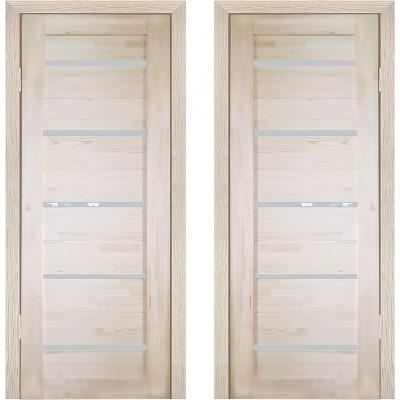 Дверное полотно Решетка ДО-700 массив сосна без сучков Премиум