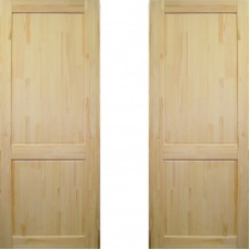 Дверное полотно Классика ДГ-700 массив сосна без сучков Премиум