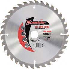 Пильный диск по дереву, 250 х 32мм, 36 зубьев+ кольцо 30/32// MATRIX Professional 73298
