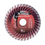 Диск алмазный отрезной Turbo 125х22,2 мм сухая резка MATRIX 73179