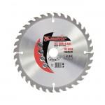 Пильный диск по дереву, 190 х 20 мм, 48 зубьев+кольцо 16/20 MATRIX  73214