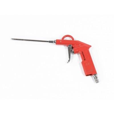 Пистолет продувочный с удлиненным соплом, пневматический, 135 мм// MATRIX 57332