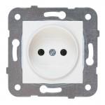 Розетка без заземления  белая (узел)WKTT02012WH-BY Panasonic