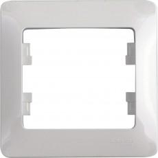 Рамка 1-постовая Schneider Electric Glossa GSL000101 (белая)