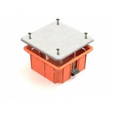 Распаячная коробка СП 92х92х45мм, крышка, пл. лапки, IP20, инд. штрихкод, TDM SQ1403-1022