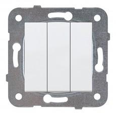 Выключатель 3х-клавишный белый (узел)WKTT00152WH-BY Panasonic