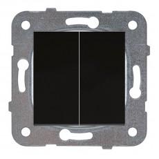 Выключатель 2-кл черный (узел)WKTT00092DG-BY Panasonic