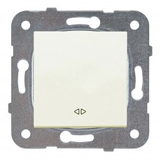 Выключатель 1-кл проходной кремовый  WKTT00032BG-BY Panasonic без рамки