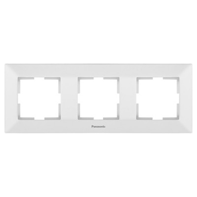 Рамка 3-х постовая белая WKTF08032WH-BY Panasonic