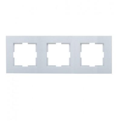Рамка 3-постовая универсальная серебро WKTF08032SL-BY Panasonic