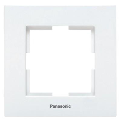 Рамка 1-постовая белаяWKTF08012WH-BY Panasonic