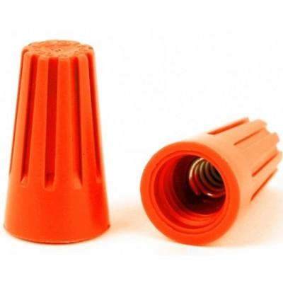 Соединительный изолирующий зажим СИЗ-3 6мм2 оранжевый 10 шт.упаковка 26618 1