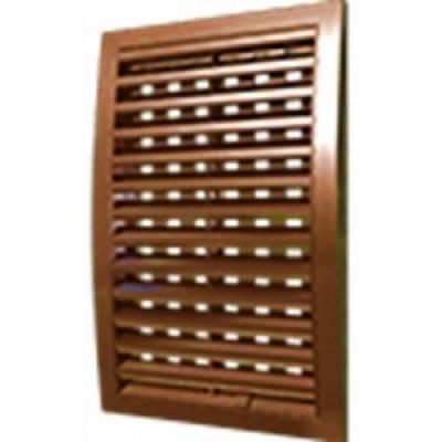 Решетка наружная ASA вентиляционная регулируемая 200х300, 2030РРПН коричневая