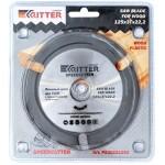 """Пильный диск для УШМ Ritter """"Speedcutter"""" 125*22,2 (дерево, пластик, гипсокартон)"""