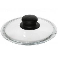 Крышка стеклянная с бобышкой 16см LID104B