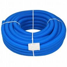 Труба гофрированная 25 синяя RU-СТ (внутренний диаметр 19 мм, 50м)