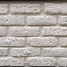"""Искусственный камень """"Кирпич-Венеция"""" белый"""