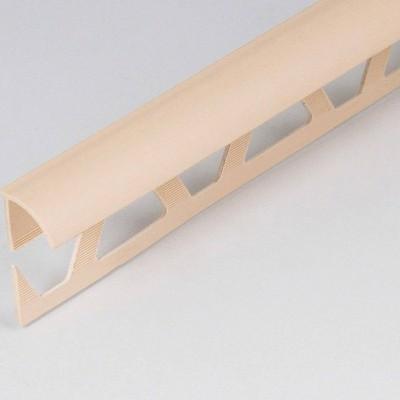 Раскладка наружная под плитку 10 мм 2,5 м Идеал Слоновая кость/008