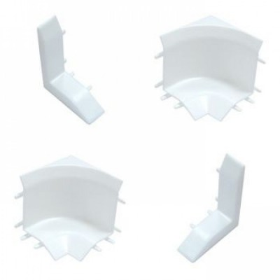"""Набор комплектующих для универсального бордюра на ванну """"Идеал"""" Белый глянцевый/001-G"""