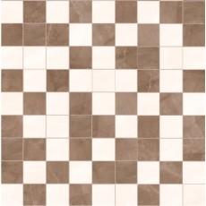 Мозаика 29.4*29.4 см AMANI AVORIO/MARRON