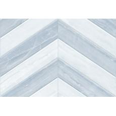 Плитка облицовочная 9AS0139 Ars голубая Шеврон 40*27