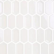 Плитка облицовочная Crayon White glos 38x76x8 (278*304)